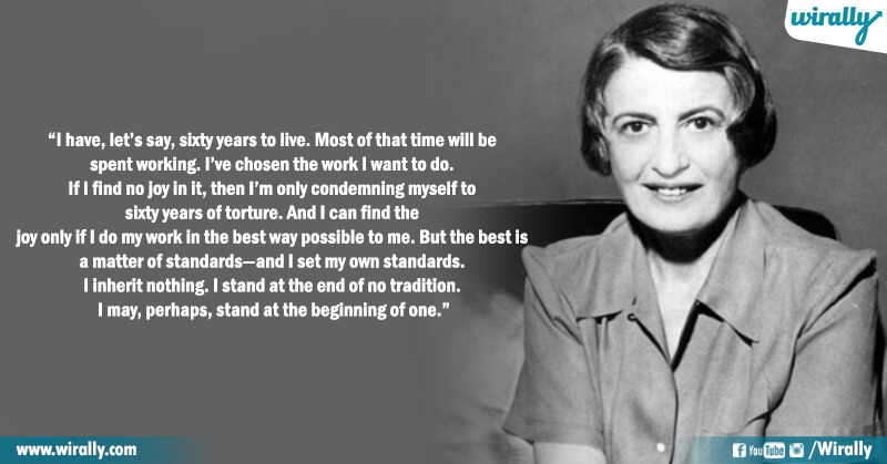 8.Quotes from Ayn Rand's