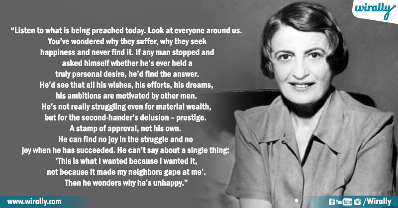 9.Quotes from Ayn Rand's