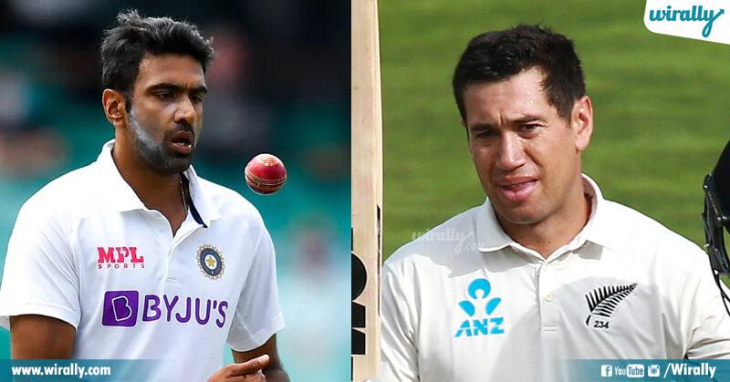 Ashwin vs Ross Taylor