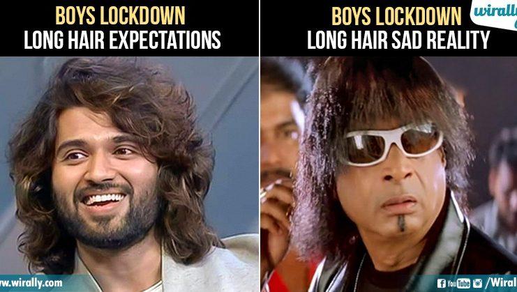Boys after lockdown