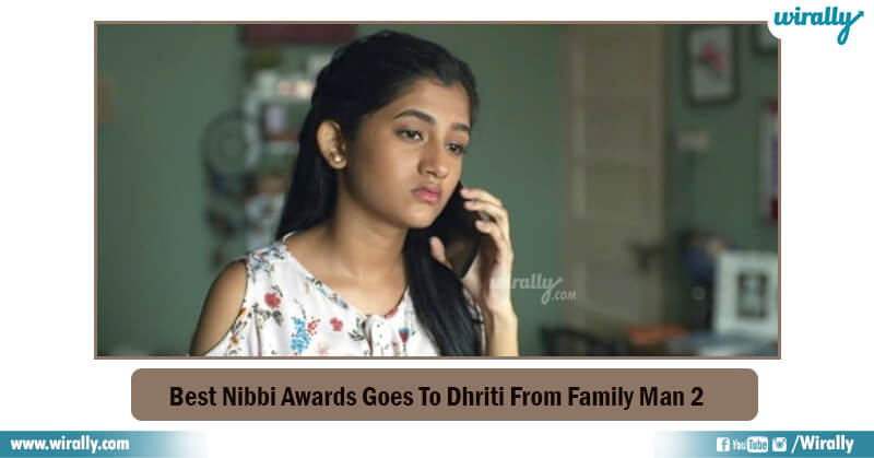 Dhriti From Family Man 2