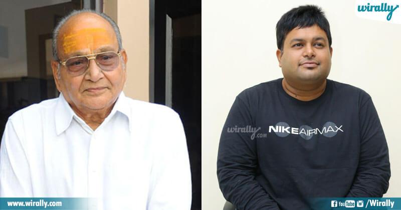 K Vishwanath garu and S S Thaman