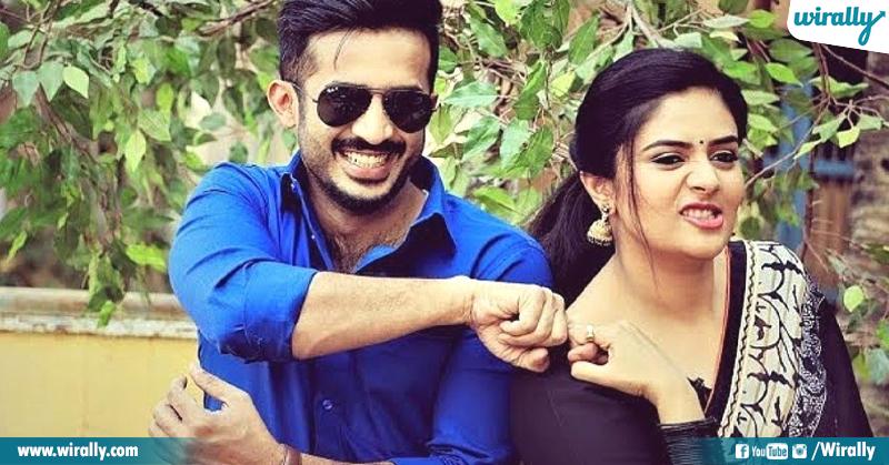 Ravi & Sree Mukhi