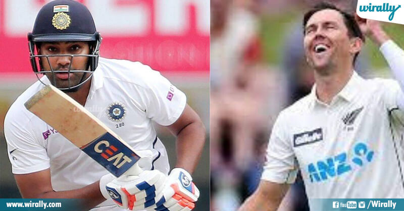 Trent Boult vs Rohit Sharma
