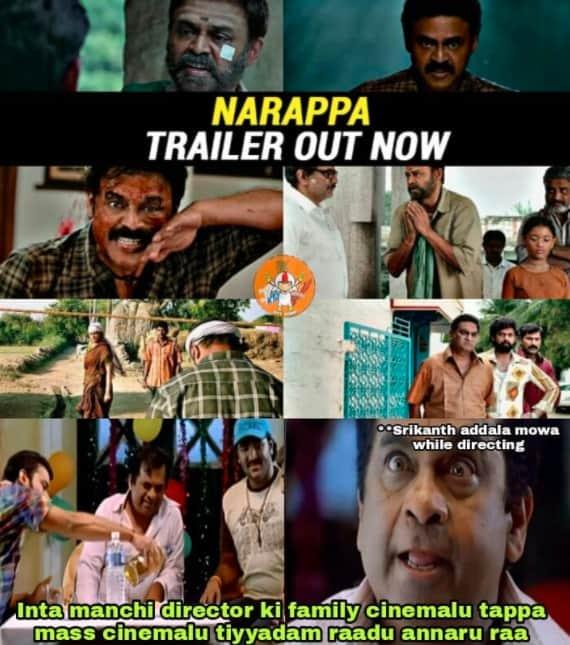 13.Narappa trailer memes