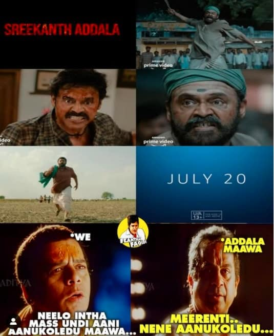 15.Narappa trailer memes