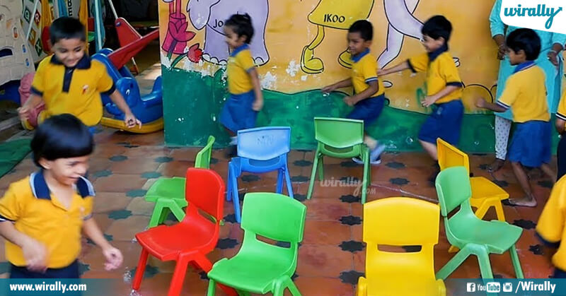 2.Musical Chairs