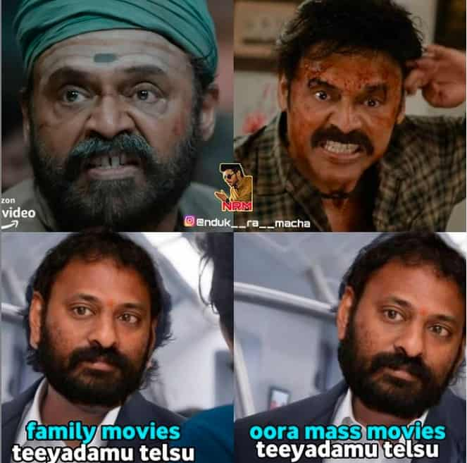 2.Narappa trailer memes