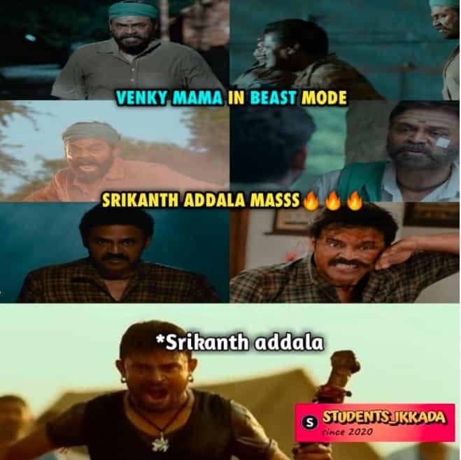 4.Narappa trailer memes