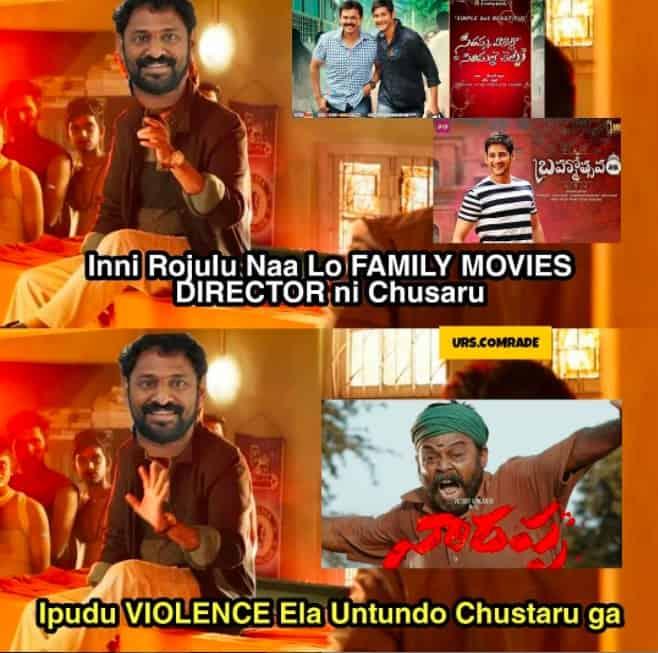 6.Narappa trailer memes