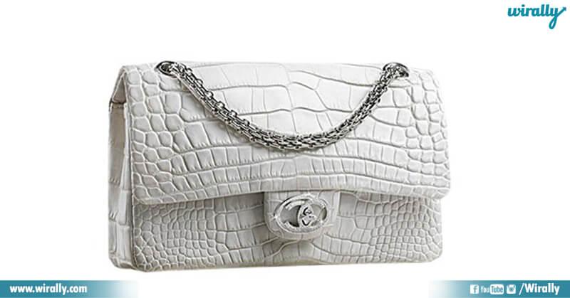 Chanel Diamond Forever Handbag