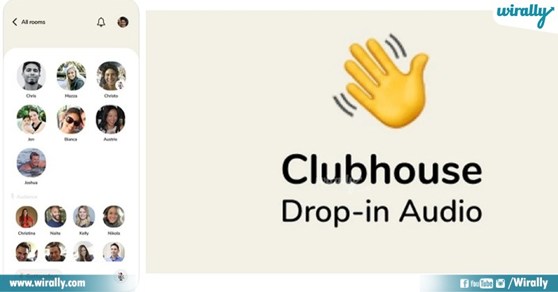 Clubhouse usages