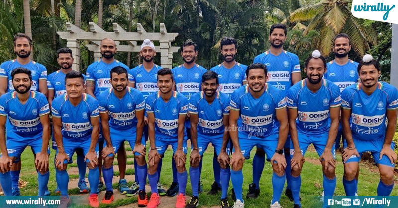 India's Men Hockey Team