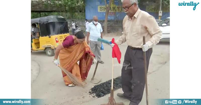 Mr & Mrs Gangadhar Tilak