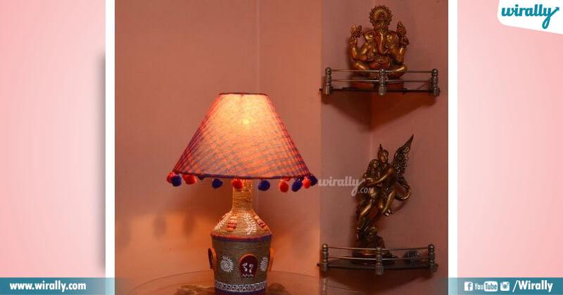 Table lamps Bottle lamps