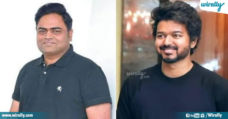 Thalapathy Vijay With Vamsi Paidipally