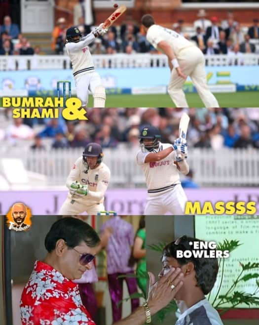 1.Shami-Bumrah innings memes