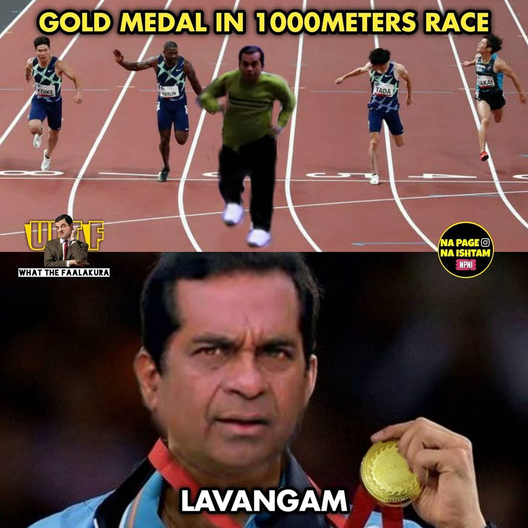 10.olympics memes ft tollywood charecters