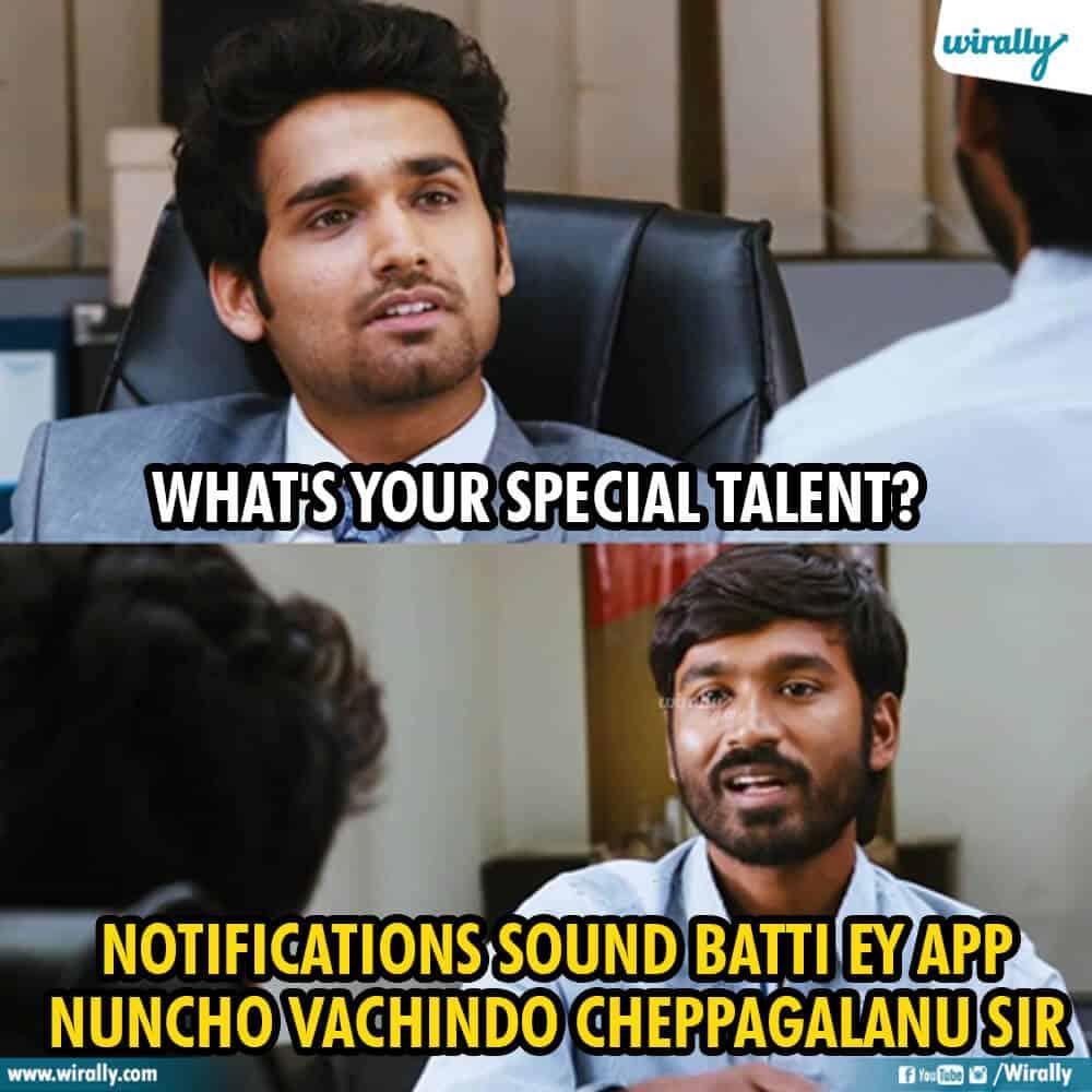2.Raghuvaran B.Tech memes