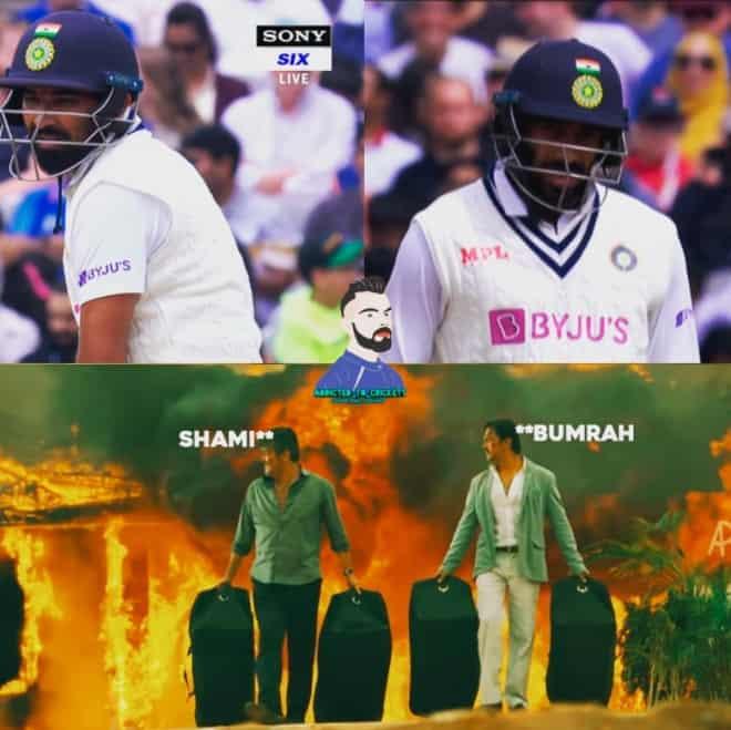 2.Shami-Bumrah innings memes
