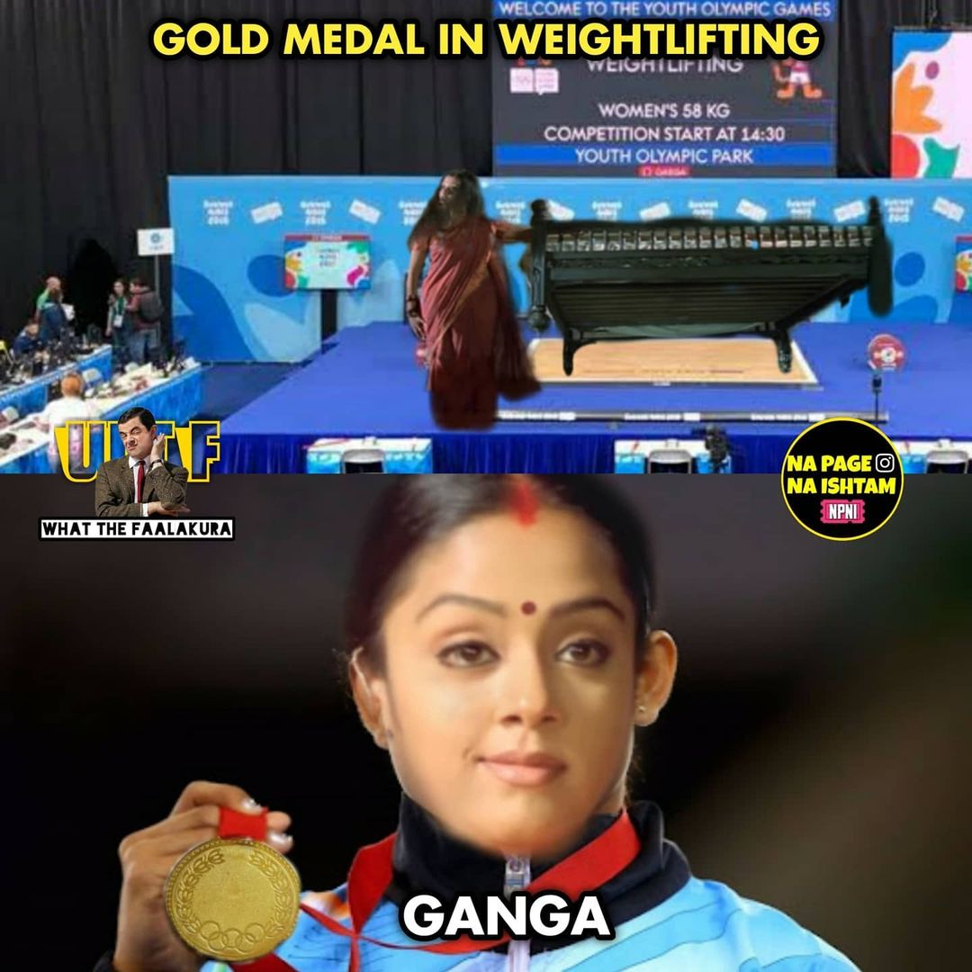 2.olympics memes ft tollywood charecters