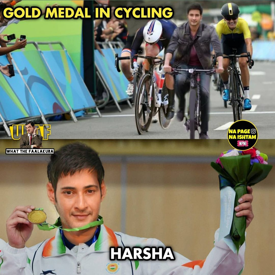 3.olympics memes ft tollywood charecters