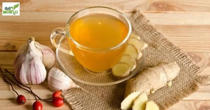 Health Benefits of Garlic Tea