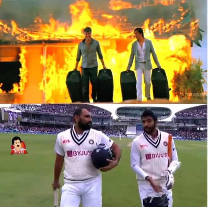 5.Shami-Bumrah innings memes