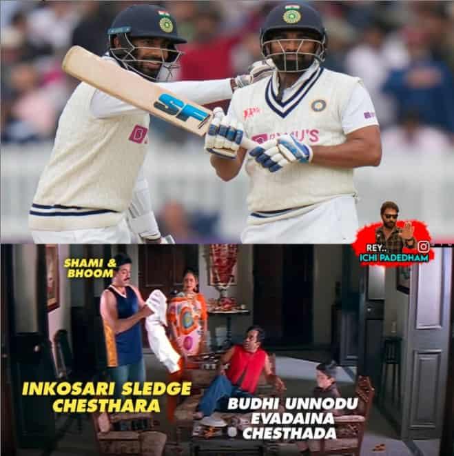6.Shami-Bumrah innings memes