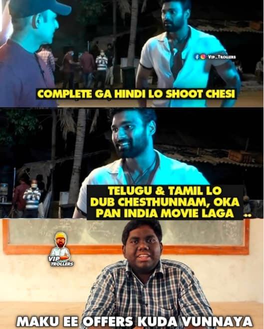 7.Chatrapathi Remake memes