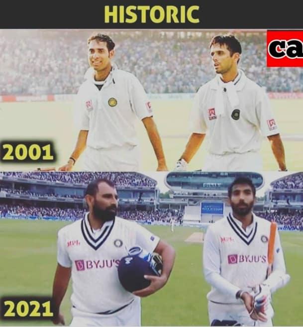 7.Shami-Bumrah innings memes