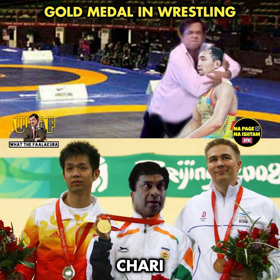 8.olympics memes ft tollywood charecters