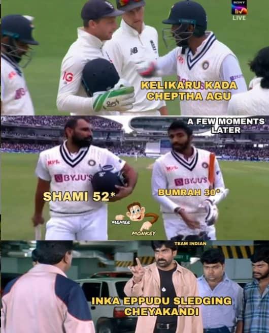 9.Shami-Bumrah innings memes