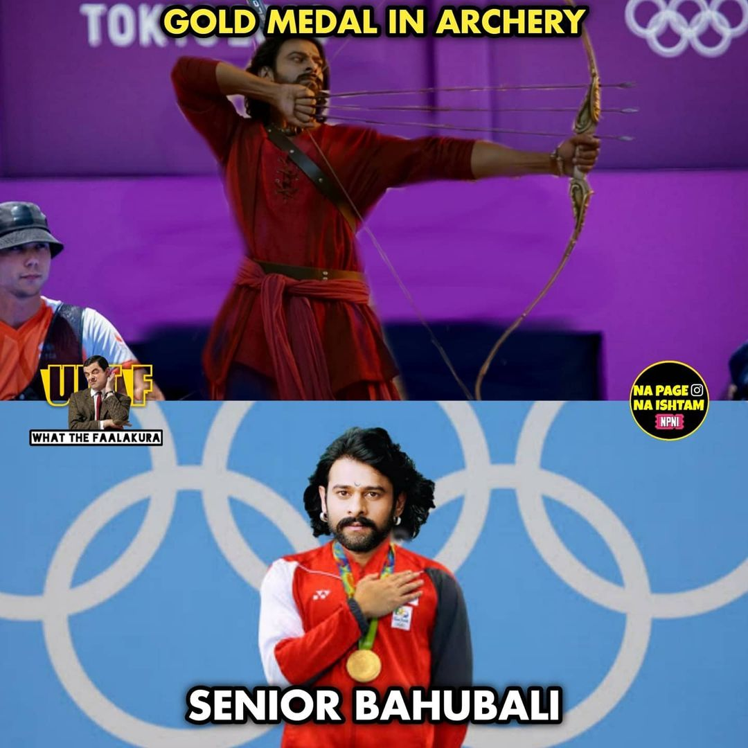 9.olympics memes ft tollywood charecters