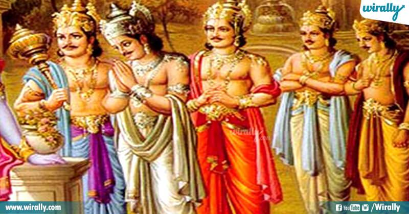 Bharatha, Shatrugnah, Nakula, Sahadeva