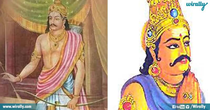 Dharmaraj and Vibheeshana