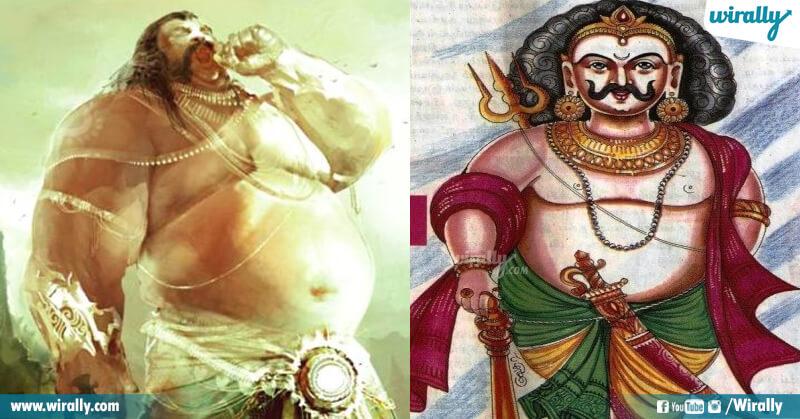 Kubhakarna and Ghatotkacha
