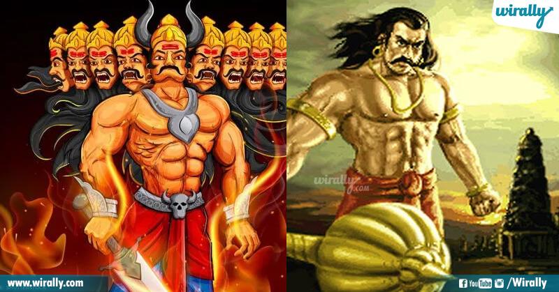 Ravana and Duryodhana