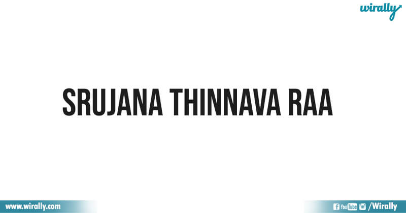 Srujana Thinnava Raa