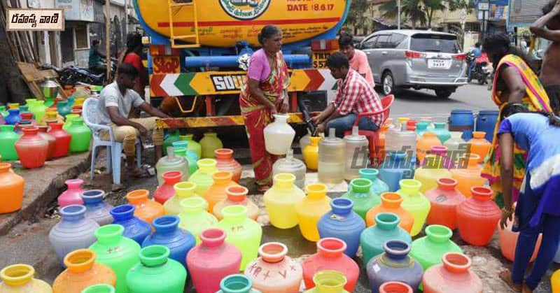 water scarcity in tamil nadu