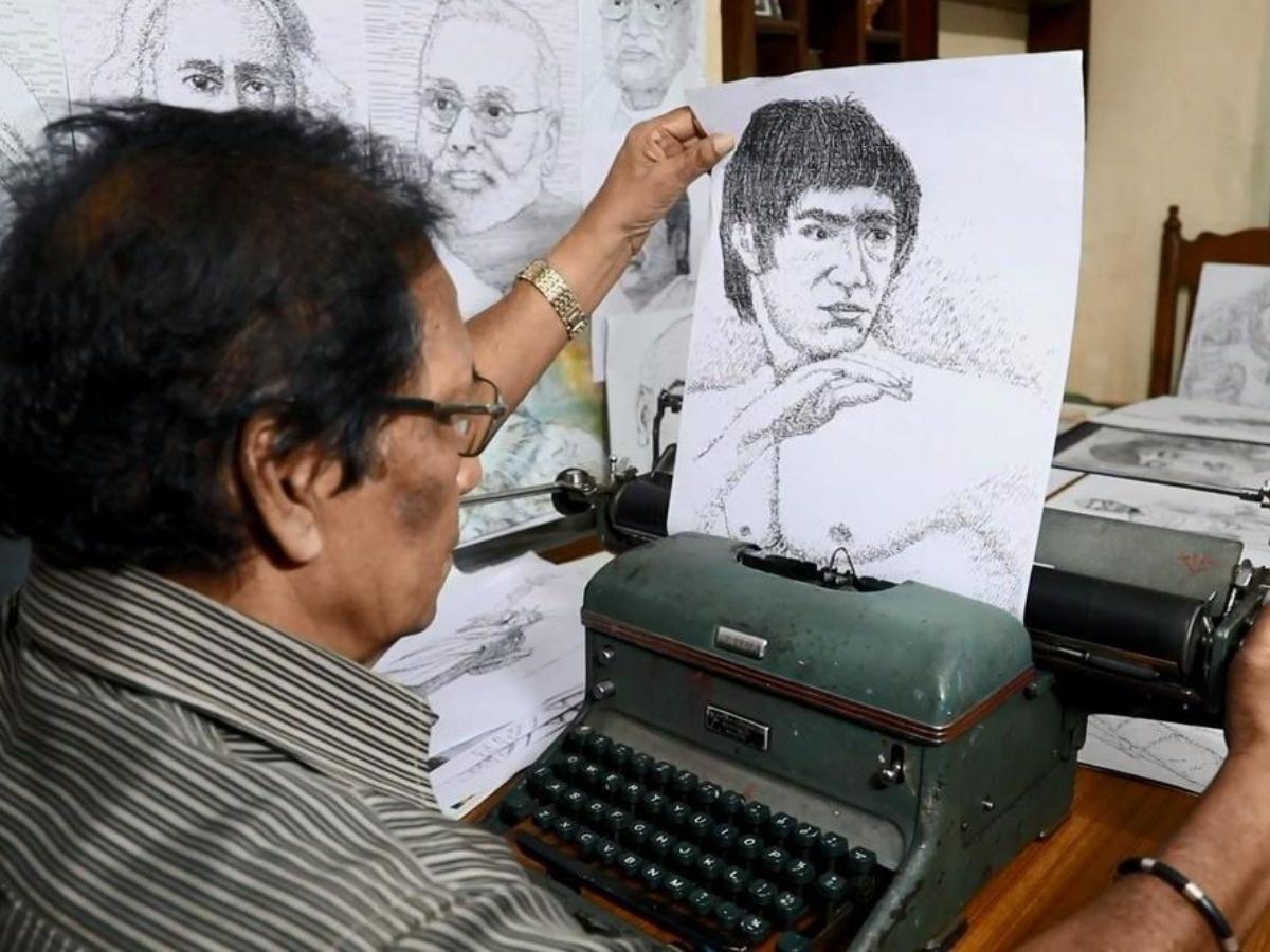 1.AC Gurumurthy paintings