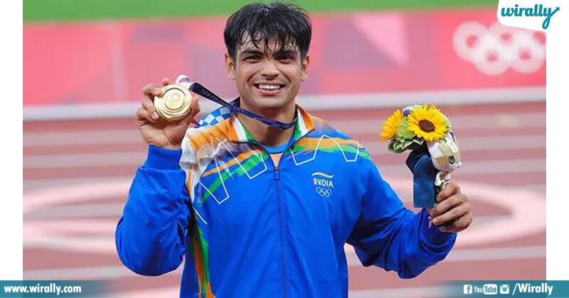 1.Neeraj Chopra