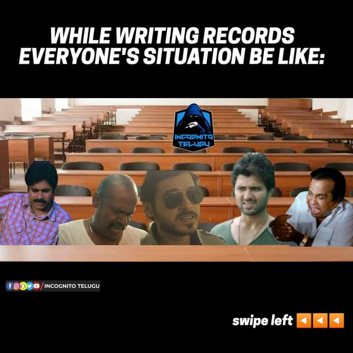 1.Record Writing Situations
