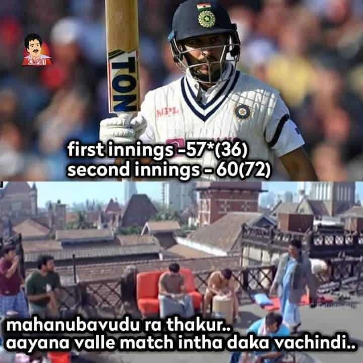 1.Shardul Thakur memes