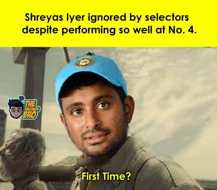 19.T20 WC Squad memes
