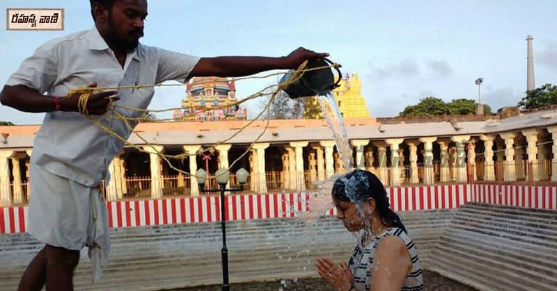 Ramanatha Swamy Temple wells