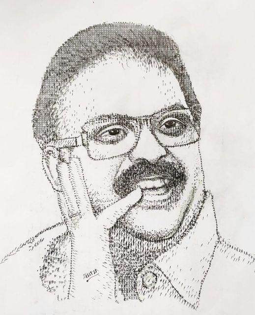 2.AC Gurumurthy paintings