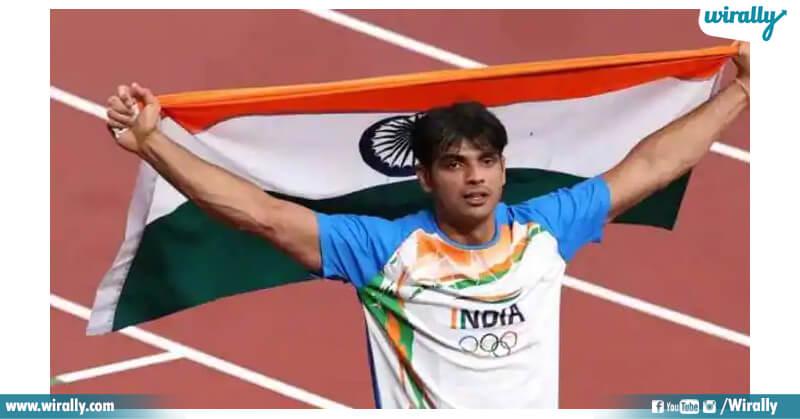 2.Neeraj Chopra
