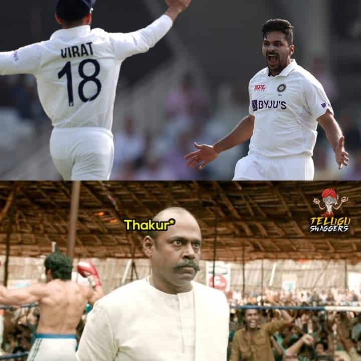 2.Shardul Thakur memes