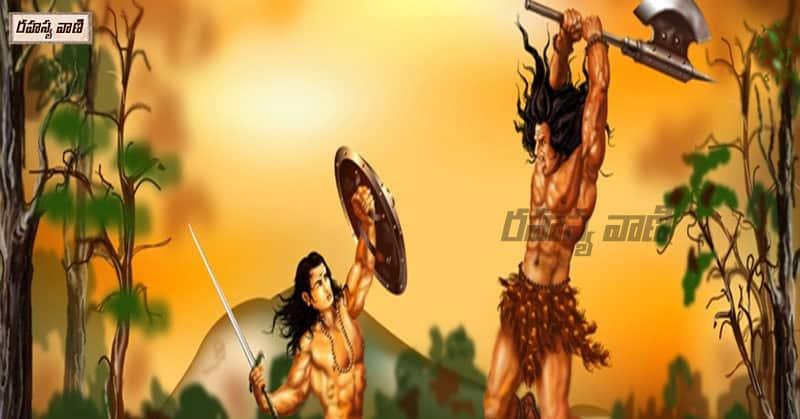 arjun and shiva war